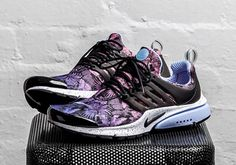 Nike Air Presto Purple Floral 2016