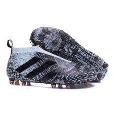 2016 Adidas Ace16+ Purecontrol FG AG Botas De Futbol Piel de serpiente 74f323959fbbc