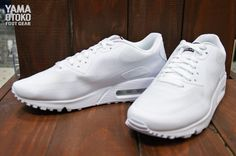 """Nike Air Max 90 Hyperfuse QS """"4th of July"""" – All White"""