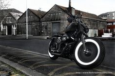 One Bad Custom Sportster Hd Sportster, Custom Sportster, Run And Ride, My Ride, Vintage Motorcycles, Cars And Motorcycles, Biker Love, Motos Harley Davidson, Bobber Style