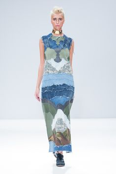 See the Gyo Yuni Kimchoe spring/summer 2016 collection. Click through for full gallery at vogue.co.uk