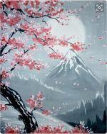 Screen Shot 2016-02-16 at 16.32.44 Cherry Blossom Painting, Cherry Blossoms, Sakura Painting, Japan Painting, Art Sur Toile, Acrylic Painting Inspiration, Chinese Art, Japanese Art, Japanese Geisha
