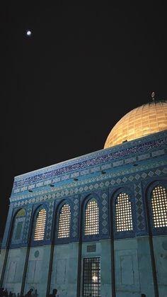 Fairy Wallpaper, Sea Wallpaper, Mecca Islam, Islamic Wallpaper Hd, Palestine Art, Mosque Architecture, Dome Of The Rock, Beautiful Quran Quotes, Beautiful Mosques