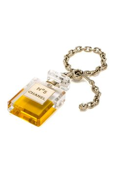 Vintage Chanel Plastic Perfume Charm Bracelet on HauteLook