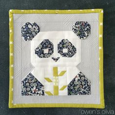 Pandamonium Quilt Pattern || Fat Quarter Shop