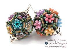 Bead Origami: Tila Garden Pendant with Rizo Beads