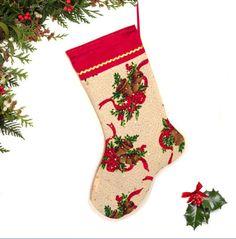 Christmas Stocking Holiday Stocking stocking by atonydesignbytony