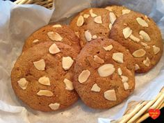 Why should the gluten-free be denied scrumptious almond cookies from the Chinese restaurant? (After all, we already can't have most Chinese food!) My daughter, who is gluten and dairy-free, h… Yuca Recipes, Grain Free, Dairy Free, No Flour Cookies, Sem Lactose, Almond Cookies, Chinese Restaurant, Coconut Sugar, Real Food Recipes