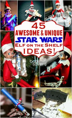 Star Wars Elf on the Shelf ideas. This article has everything!