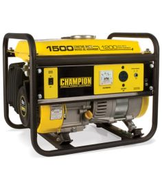 Champion 1500 Watt Generator - Read our detailed Product Review by clicking the Link below