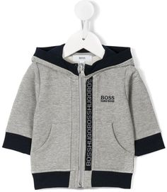 414acccbae42 Boss Kids Logo Stripe Hoodie - Farfetch
