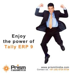 Now be tension free and enjoy the power of #TallyERP9 #taxation #accounting #tally #ERP #tax #accounts #auditing #Pune #Mumbai For more details please visit @ http://www.prismitindia.com/
