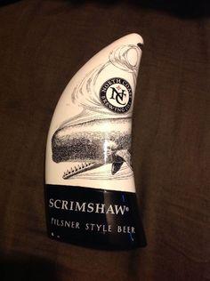 Scrimshaw Pilsner Style Beer Tap Handle Pull Draft Vintage   eBay
