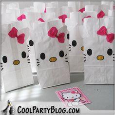 Hello Kitty Party Favor Bag - Tutorial