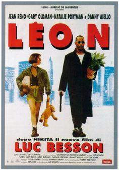 LEON - film del 1994 diretto da Luc Besson, interpretato da Jean Reno, Natalie Portman e Gary Oldman.