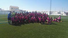 Jabalquinto estrena césped artificial en su campo de fútbol tras una inversión de 237.000 euros