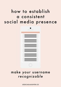 Make your username recognizable with these tips for establishing a consistent social media presence!