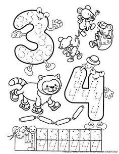 Numbers handwriting sheets for kids Preschool Learning Activities, Preschool Printables, Preschool Lessons, Preschool Worksheets, Kindergarten Math, Math Lessons, Preschool Activities, Teaching Kids, Kids Learning