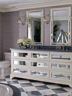 Powder room vanity. Jean-Louis Deniot