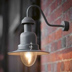 Wall Mounted Lights The Garden Trading Fishing Lamp In Charcoal Is Version