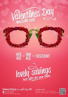 Valentine's Day Sale on Behance