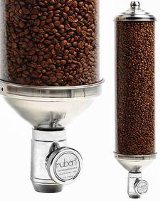Coffee Bean Dispenser, Cylindrical Coffee Bean Dispenser, Burr Coffee Bean Dispenser