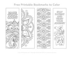 Coloring Calendar 2016 and Free Printable Bookmarks to Color . Free Printable Bookmarks, Bookmark Template, Bookmarks Kids, Free Printables, Bookmarks To Color, Bookmarks Quotes, Bookmark Ideas, Printable Quotes, Marque Page