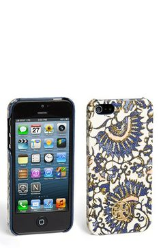 Tory Burch 'Kerrington' Hard Shell iPhone 5 & 5S Case