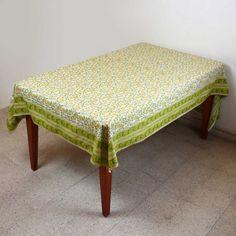Spring Tablecloth Rectangular 60 X 90 Decor Table Floral Cotton by ShalinIndia, http://www.amazon.com/dp/B00BLI69PU/ref=cm_sw_r_pi_dp_9l3zsb1M69G85