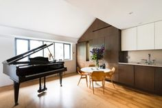 This wonderful three-bedroom Victorian terraced house has been refurbished and extended to an exemplary standard by Kleinmann Frydenbø Architecture. The ground floor contains an entrance hall with hooks for coats, and a double reception room with a bay window at the front and doors to the garden at the rear. The extension contains a magnificent […]