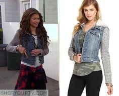 KC Undercover: Season 1 Episode 1 KC's Denim and Knit Jacket