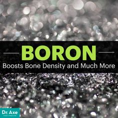 Boron uses include boosting done density, balancing hormones and fighting diabetes, among others. Learn about other boron benefits and the best boron foods. Boron Benefits, Health Benefits, Bone Health, Brain Health, Alternative Health, Alternative Medicine, Natural Cures, Natural Healing, Bones