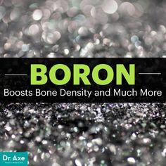 Boron uses