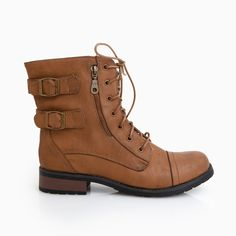 Double Buckle. I'm a little obsessed with ankle boots, especially ones with buckles. I want.