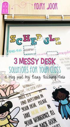I've got 3 messy des