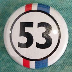 #Button #Badge #53 #Herbie #LoveBug
