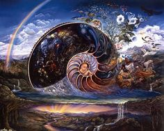 Josephine Wall, The Spiral of Life