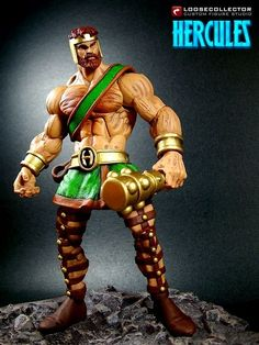 Classic Hercules (Marvel Legends) Custom Action Figure  by loosecollector (recipe by SAVAGEWORLDBREAKER)
