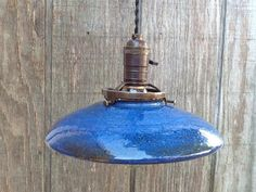 pottery pendant light - Google Search