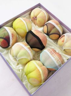 Chinese Fruit Vendors Are Selling Peaches That Are Clad in Tiny Women's Underwear