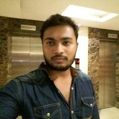 Selfie in front of my Flat elevator