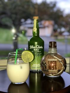 Lime in the Coconut blue Chair Bay Key Lime Cream Liquor, Coconut Rum, seltzer. Mix rums together with ice in shaker. Pour into glass top with seltzer. Key Lime Rum Recipes, Cream Recipes, Rum Liquor, Liquor Drinks, Lime Drinks, Yummy Drinks, Party Drinks, Cocktail Drinks, Cocktails