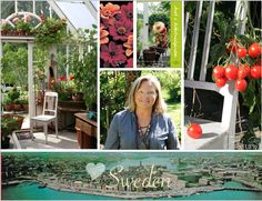 Organically grown heirloom produce from this picturesque garden, along with the pristine coastline of Sweden are just a few of the reasons Tyra loves this part of the world.