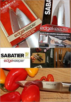 Sabatier Edgekeeper Knives Sharpen Themselves