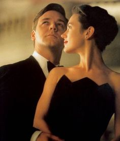 Russell Crowe and Jennifer Connelly in 'A Beautiful Mind'.
