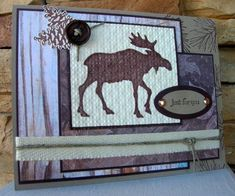 Just for You Moose by calmag - Cards and Paper Crafts at Splitcoaststampers