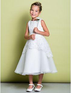 vestidos de comunion para niña sencillos