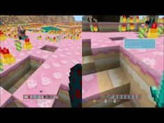 Candy Texture Pack for Minecraft, Yo! Ender Blossom & Snoggycat explore the newly released Candy Texture pack for Minecraft Xbox Mine Minecraft, Texture Packs, Packing, Candy, Play, Games, Videos, Modern, Youtube