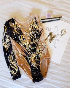 """Anastasia SUKHININA (Сухинина) в Instagram: «""""ЗВЁЗДНАЯ ПЫЛЬ"""" 🌠 когда эскиз и купальник близняшечки! 🌠Заказывайте эскизы! 🌠Заказывайте пошив купальников! 🌠На все вопросы отвечу, об…» Rhythmic Gymnastics Leotards, Dance Dresses, Figure Skating, Costumes, How To Wear, Drill, Fashion, Gym Leggings, Suits"""