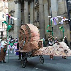 Fantastical Cycle Parade | Yorkshire Festival 2014